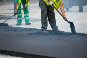 We did some commercial asphalt repair in Orland Park