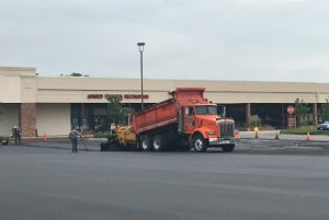 A shot of our Orland Park paving contractor team